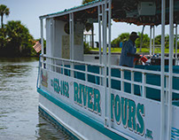 Space Coast River Tours - Photoshoot