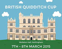 British Quidditch Cup Advertising