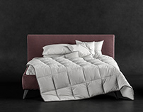3D Model of bed.