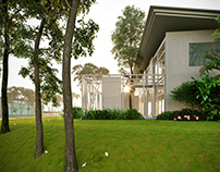 Thailand villa.