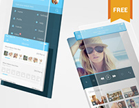 2 Free iPhone App Mockups