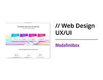 Website Design for Modafinilbox