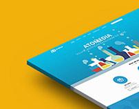 Atomedia Landing page