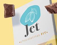 Branding and Logo Design for Jet Chocolates