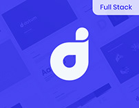 Datum.org Brand Identity, Website and UI/UX design