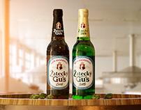 ZATECKY GUS. NON-ALCOHOLIC BEER