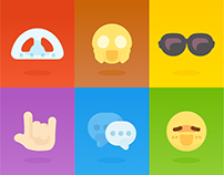 Logo / Icon / Emoji for OnionMath Communication (2D)