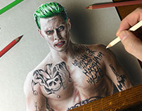 Drawing Joker Suicide Squad