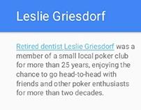 Leslie Griesdorf: Notable Types of Dentistry