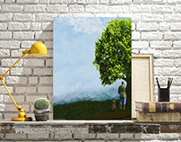 Digital Paintings-Home Decor
