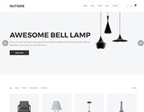 Outside - Minimal Shopping HTML5 Template