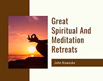 Great Spiritual & Meditation Retreats
