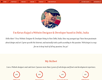 Ketan Rajpal Website Designer & Developer