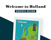 """Poster """"Welcome to Holland"""""""