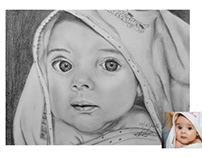 Pencil drawings by Bankova