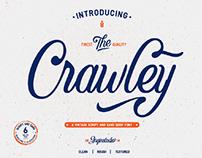 FREE | Crawley Vintage Script