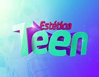 Logotipo Estética Teen - Ação de Marketing