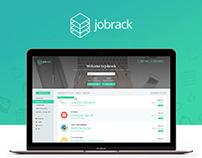 JobRack UI / Web Design
