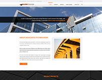 Web design for Associated Technologies