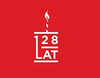 128 lat Coca-Cola / 128 years Coca-Cola