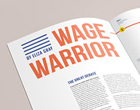 EDITORIAL: Wage Warrior