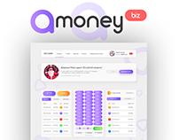 Разработка Сайта и Дизайна для A-money #Разработка