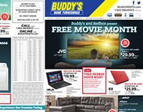 Buddy's Home Furnishings - 2015 Monthly Flyers