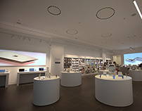 FLUA for Apple Store in Israel