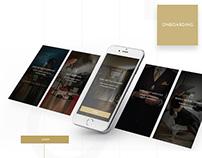 Wishup luxury app design