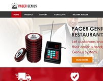 Pager Genius Website Redesign