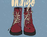 Blue False Indigo: Band Poster