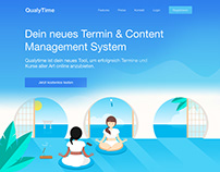 QualyTime – Illustration, Icon- & Webdesign