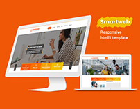 Smartweb Html 5 Responsive Template