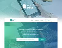 White Paper Web app