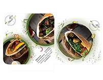 Sandwish Packaging Design | Beans & Falafel