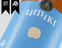 Umiki Ocean Whisky Brand Design