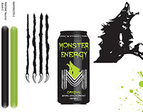 Monster Energy Drink Logo Redesign