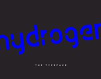 Typeface Design: Hydrogen