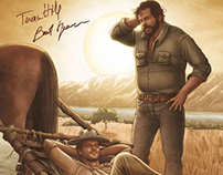 Terence Hill & Bud Spencer Visual Art