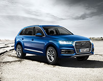Audi Q7 Gráfica desierto