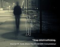 Stop Child Trafficking / Magazine Ad