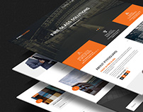 Pryogaurd- Landing Page Redesign (Practice Project)