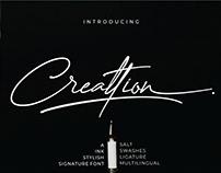 Free Creattion Signature Font
