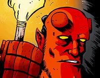 Hellboy. Illustration