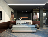 Hotel Room - Corona Render