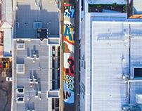 Tristan Kerr - King Street Mural, Melbourne
