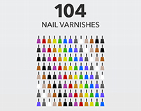 My Nail Varnish Collection // Infographic