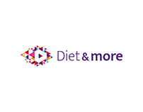 Diet & more - redesign logo