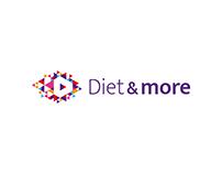 Diet & more - redesign logo