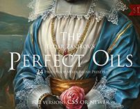 The Perfect Oils. Mixer Brush Presets for Photoshop